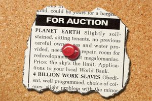 Planet for Auction