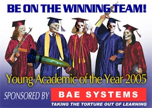 BAE System Young Academic Of The Year