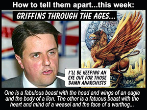 Nick Griffin - leader of the BNP