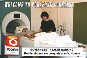 Welcome to Vodafone Country....