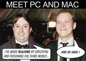 Meet Mr Pc and Mr Mac