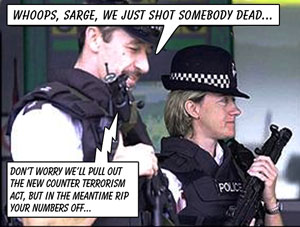 Whoops, Sarge, we just shot somebody dead...
