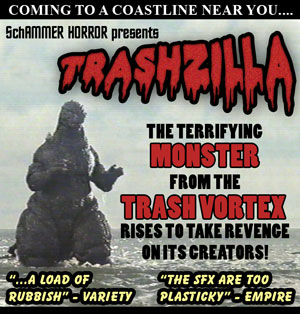Trashzilla - the monster from the trash vortex