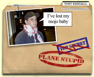 As Plane Stupid uncover their mole - public school prat Toby Kendall