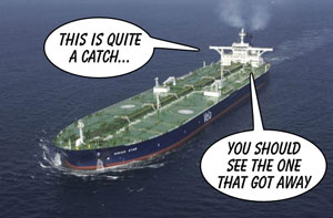Giant oil tanker the Sirius Star is hijacked by Somalian pirates