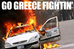 Go Greece Fightin'