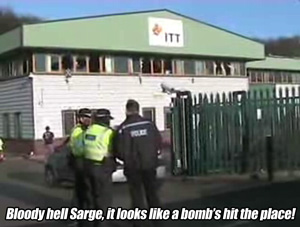 Bloody hell Sarge, it looks like a bomb's hit the place!
