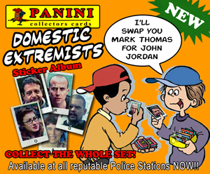 Domestic extremists collectors cards