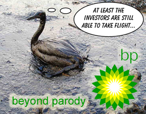 BP oil spill in gulf of Mexico