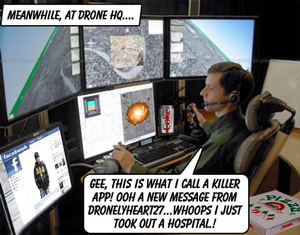 US Military is moving to unmanned drones and robots to fight their unwinnable wars.