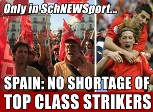 Spain: No shortage of class strikers