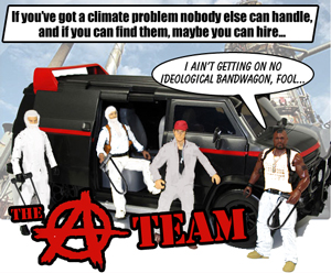 Climate direct action A-Team